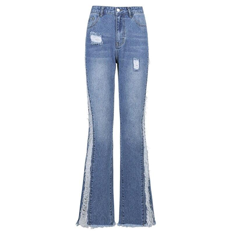 Модные Женские однотонные пикантные облегающие брюки с высокой талией, джинсовые брюки для женщин, джинсы с высокой талией и карманами