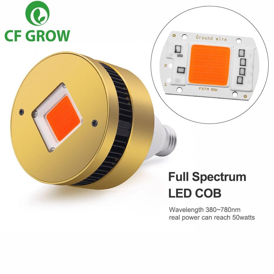 Luz LED COB de 120W y 150W E26 E27, Base de toma, espectro completo, lámpara de cultivo para plantas de interior, tienda de cultivo pequeña