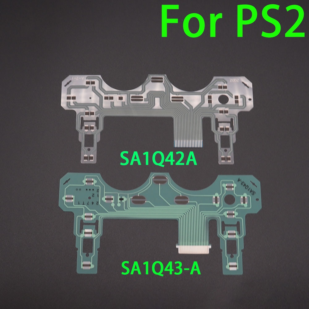 20 шт. для Sony Playstation 2 для PS2 проводящая пленка для контроллера проводящая лента из пленки для клавиатуры гибкий кабель SA1Q42A SA1Q43-A