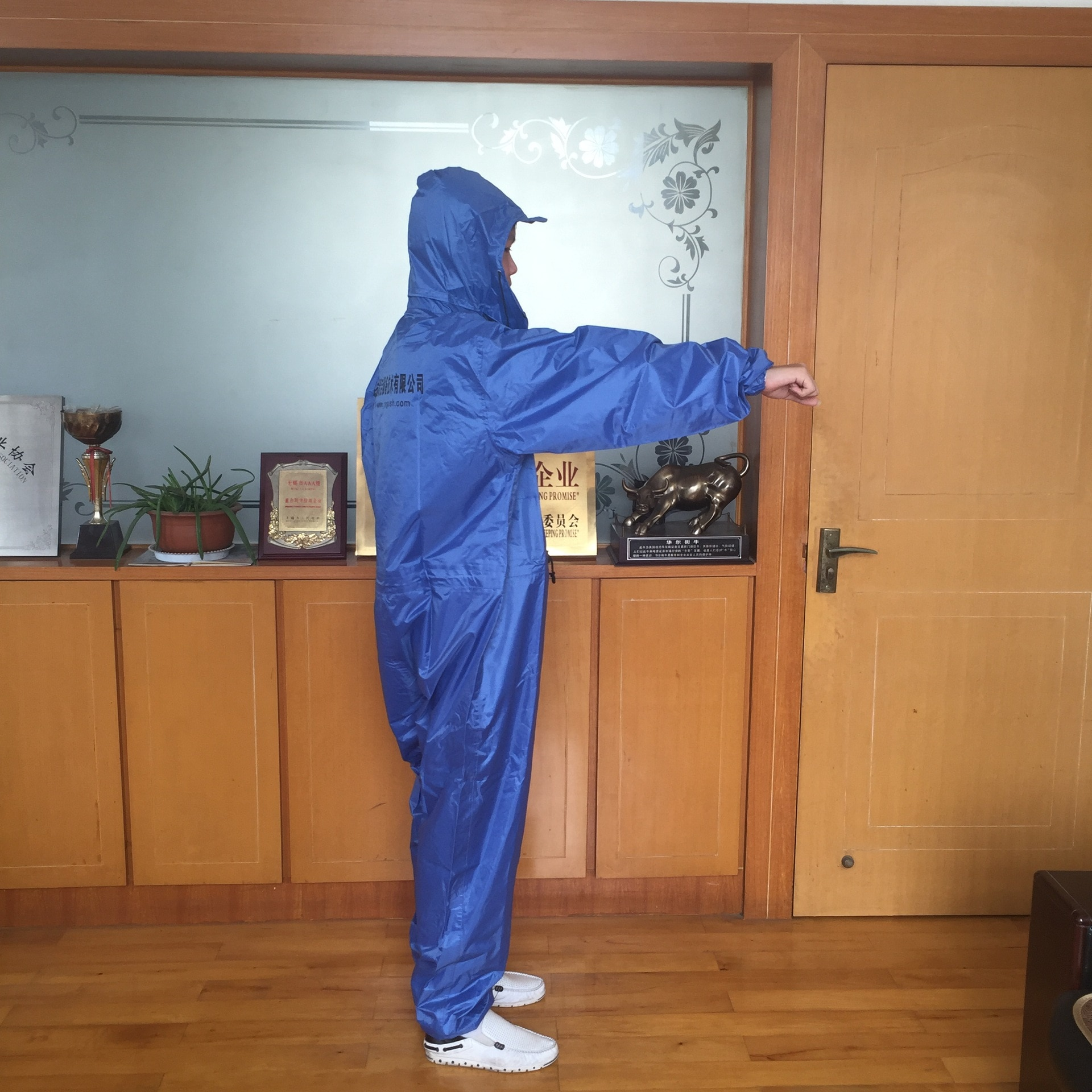 New One-piece Car Wash Spray Paint Professional Labor Insurance Polyester Taffo Adult Raincoat Flood Prevention Disaster Poncho
