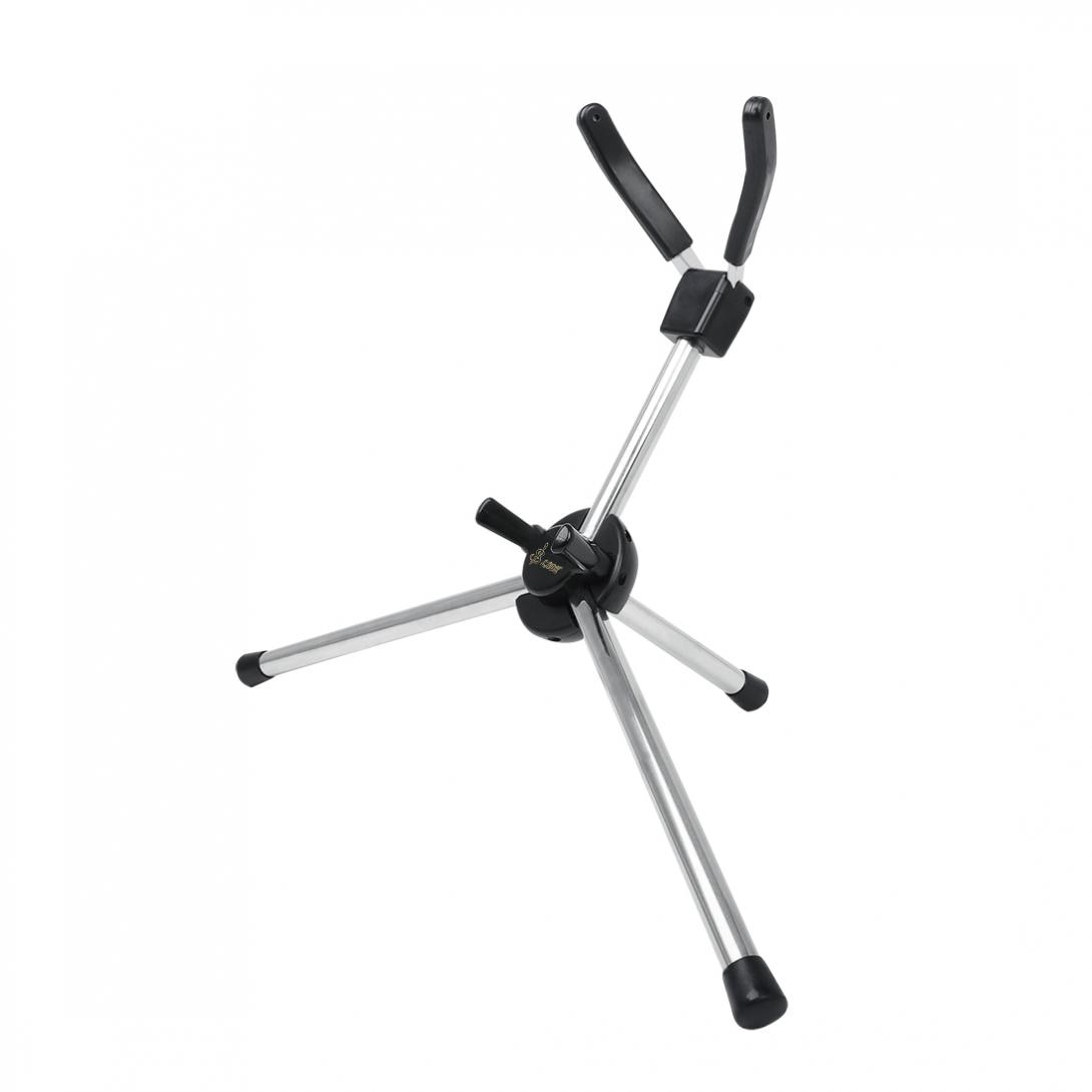 Saxophone  Stand  Alto Tenor Soprano Saxophone Stand Stainless Portable Sax Tripod HolderSaxophone stand enlarge