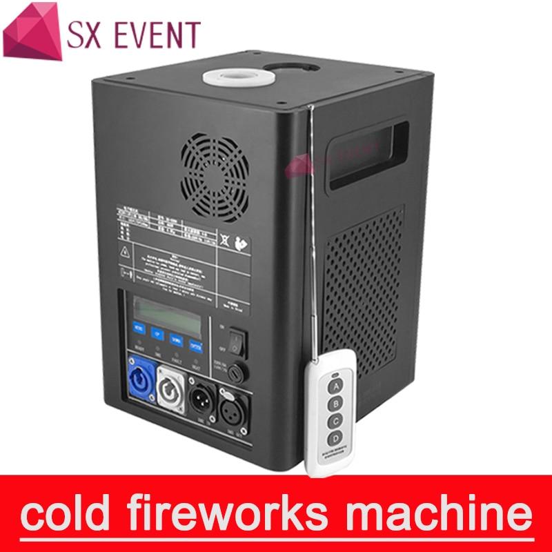 آلة الألعاب النارية على البارد للحفلات ، 400 واط ، لهب بارد DMX ومعدات متلألئة عن بعد ، مثالية لحفلات الزفاف