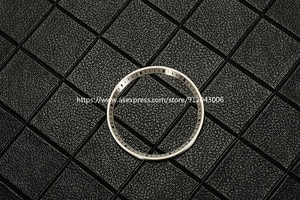 Watch Accessories Fine MM SBDC001/003/031/033 Series Substitute Metal Inner Shadow Ring 31.5mm Brush silver/gold