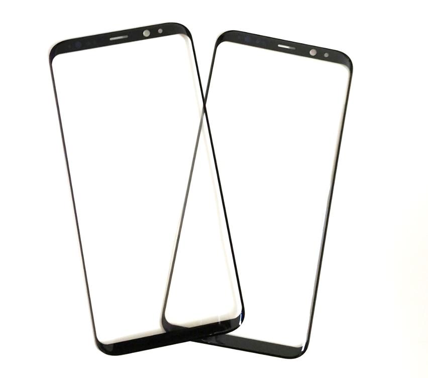 10 шт. передний внешний экран стеклянный объектив с OCA пленкой для Samsung S10 S8 S9 + Note 8 9 10 Замена