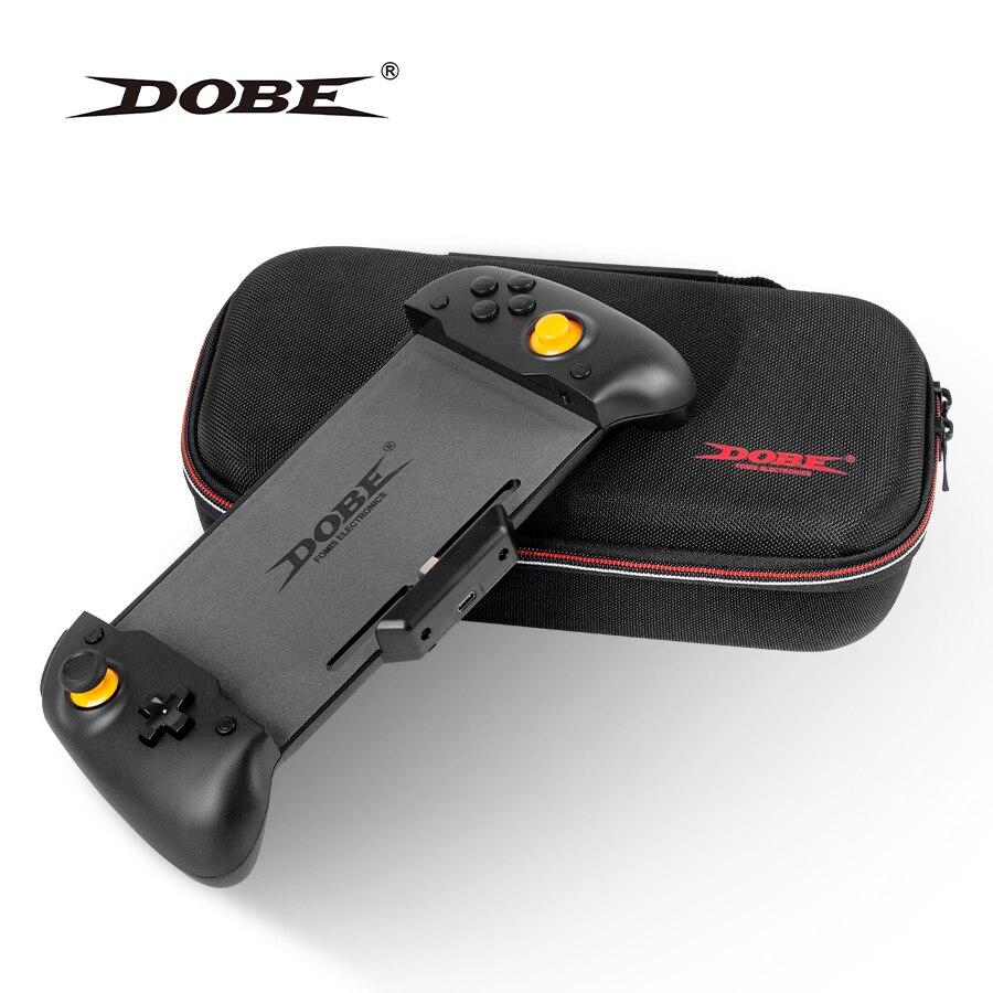 Para nintendo switch handheld controlador aperto gamepad duplo motor vibração built-in 6-axis gyro sweat-proof design com caso