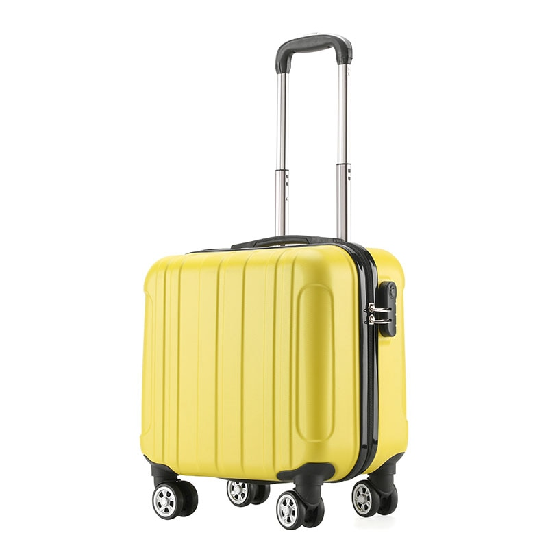 """""""18"""""""" Colorful Square Travel Rolling Luggage  Boarding Suitcase   Luggage Bag    """""""