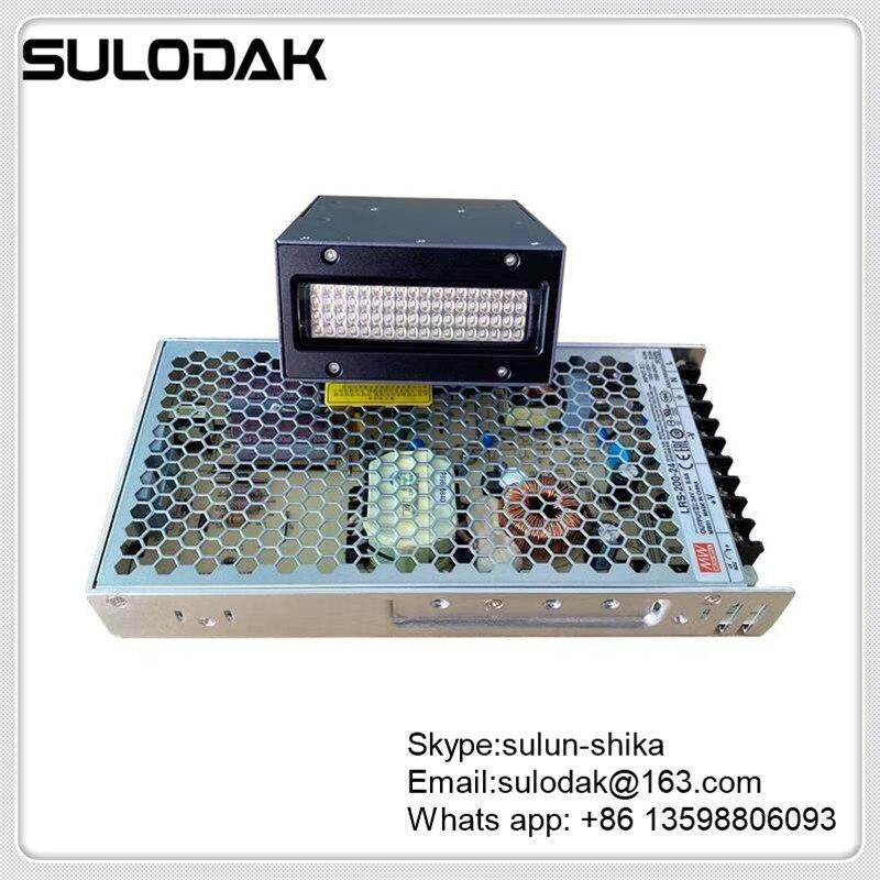 مروحة تبريد UV LED مصباح ل Nocai 6090 UV طابعة مسطحة Epson XP600 TX800 DX5 DX7 طباعة 36nm 39nm G4 G5 G6 فوهة UV ضوء