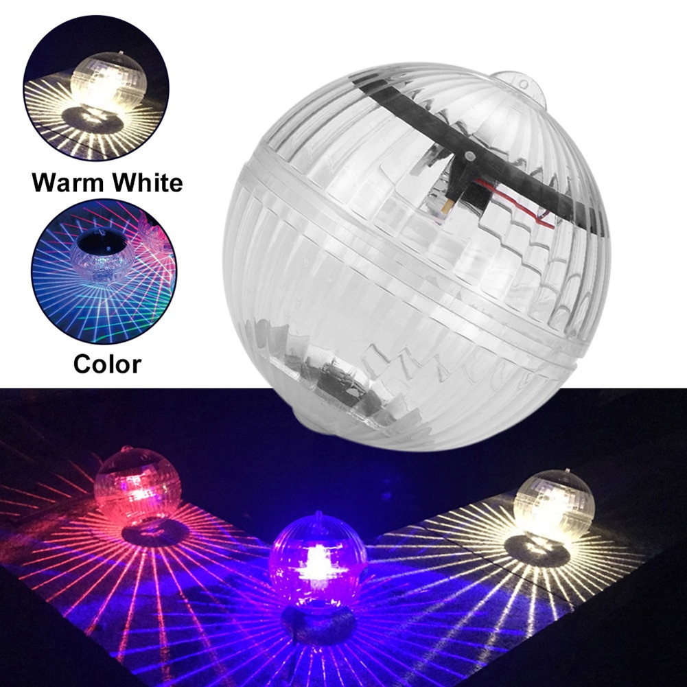 Outdoor Floating Ball Lamp Solar Color Changing Swimming Pool Party Night Light Solar Powered Color Swimming Pool for Party