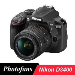 Nikon D3400 DSLR камера с объективом 18-55 мм-Bluetooth-видео (абсолютно новый)