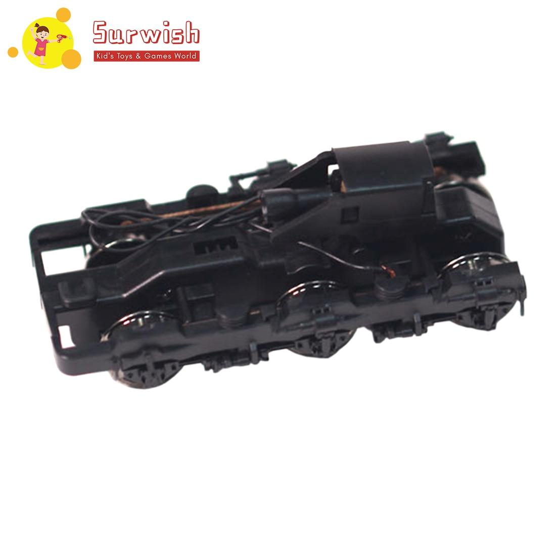 Surwish 2,8X6,8 cm 187 Ho escala Railway Layou Undercarriage Bogie para la mayoría de los modelos de tren de escala Ho Kits de construcción caliente