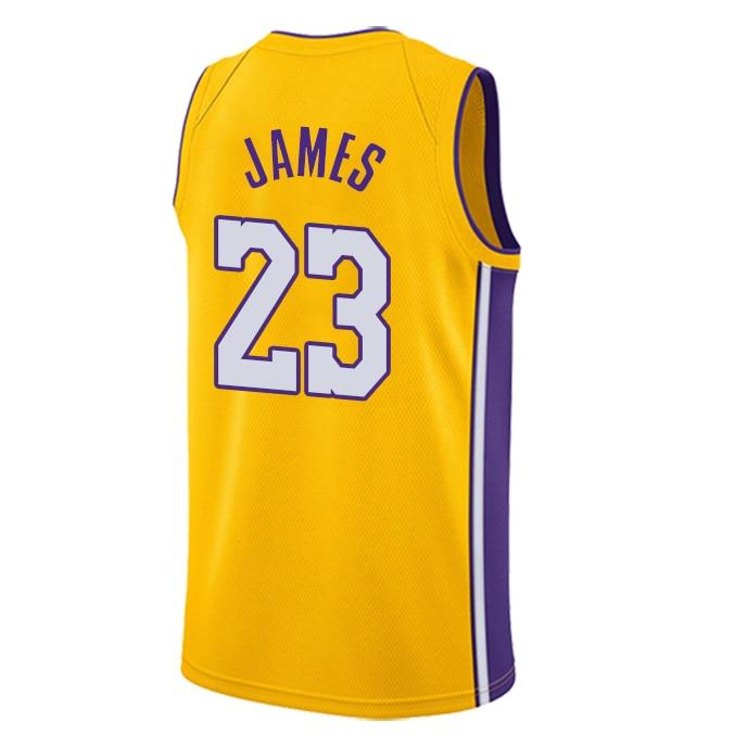 رجل جديد كرة السلة الأمريكية الفانيلة الملابس #23 الأوروبي حجم الكرة السراويل تي شيرت بلوزات باردة فضفاضة القماش الرجال تي شيرت السراويل