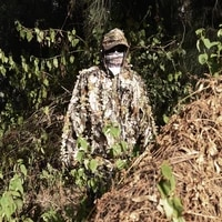 menfly tree bionics camouflage hunting ghillie suits bird watching photograph leaf woodland cs game cosplay tactical uniform