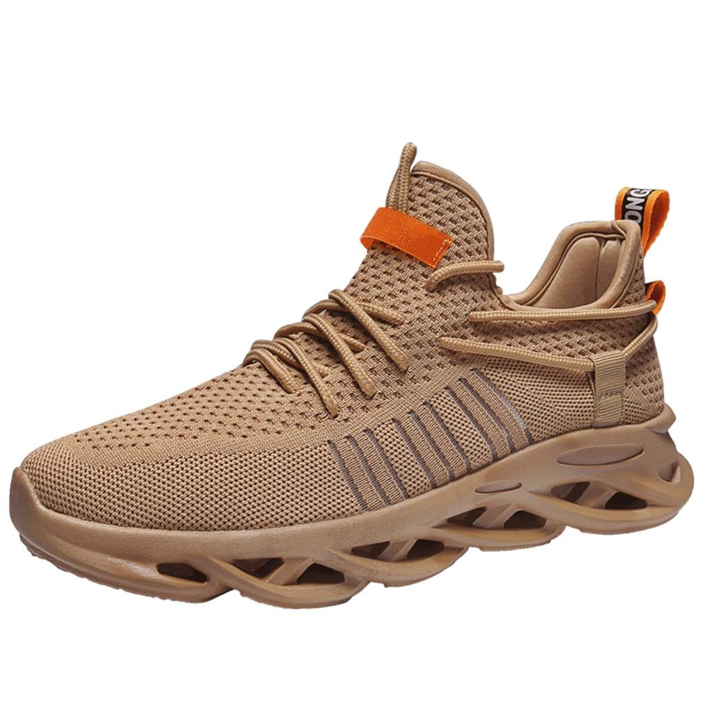 SAGACE Turnschuhe herren Flying Woven Atmungsaktiv Bequeme Schuhe Dämpfung Lauf Mesh Weiche Rutsch Beiläufige Schuhe X0110
