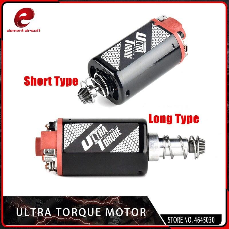 Element Ultra Drehmoment Motor Hohe Drehmoment Typ Starke Magnet für Airsoft M16/M4/MP5/G3/P90 airsoft AEG Motor (LANGE TYP)