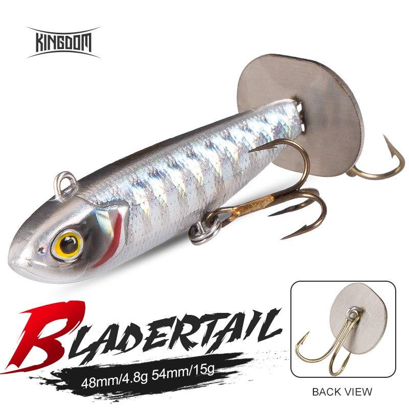 Рыболовная приманка BLADERTAIL VIB, приманка с жестким креплением, вибрация, излучающая звук, Искусственные воблеры