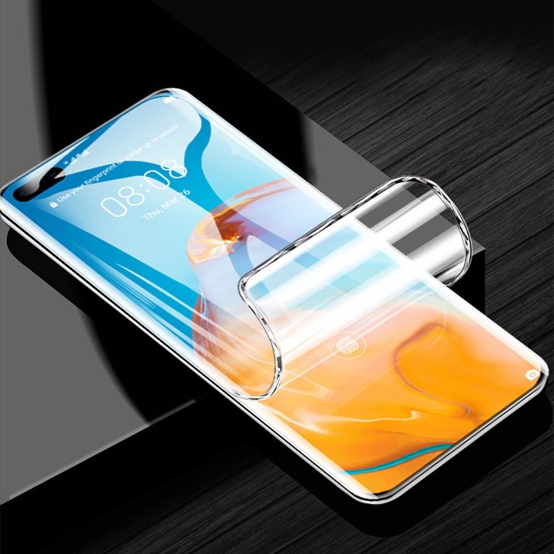 Front / Back Full Coverage Clear Soft TPU Film Screen Protector For Huawei P40 / P40 Pro AN00 TN00 C