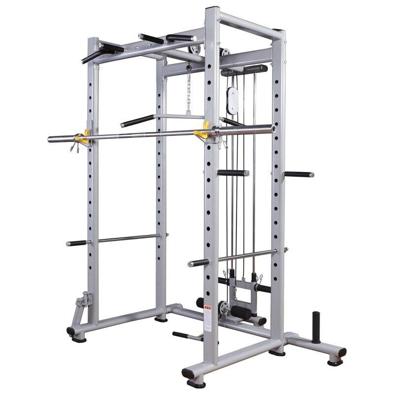 Equipamentos de Fitness Profissão Liberdade Quadro Agachamento Rack Multifuncional Levantamento Peso Banco Suporte Barbell Portal