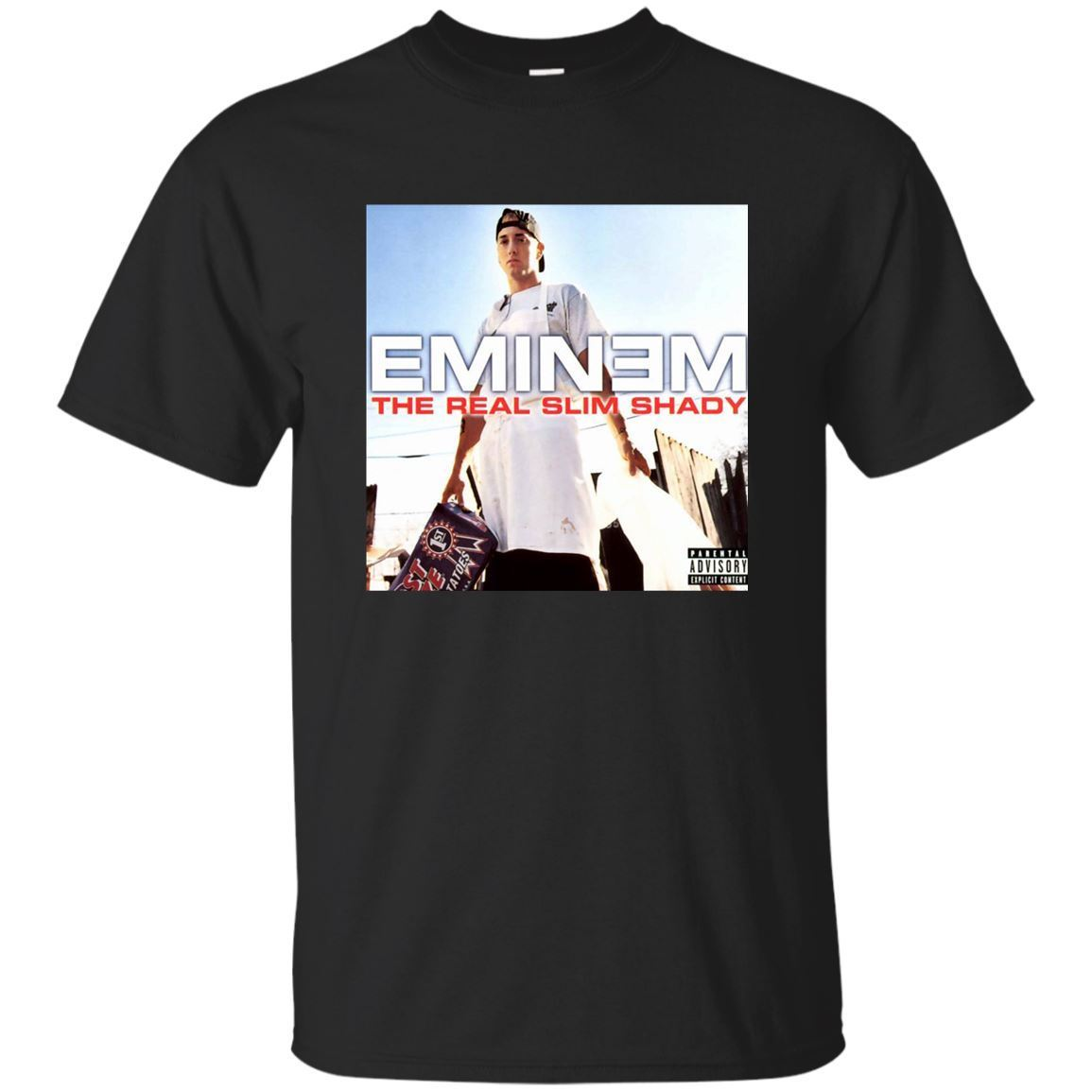 Camiseta azul marino negro Eminem La camiseta sombreada Kamikaze Killshot Lake S-3xlcottont camisetas baratas al por mayor