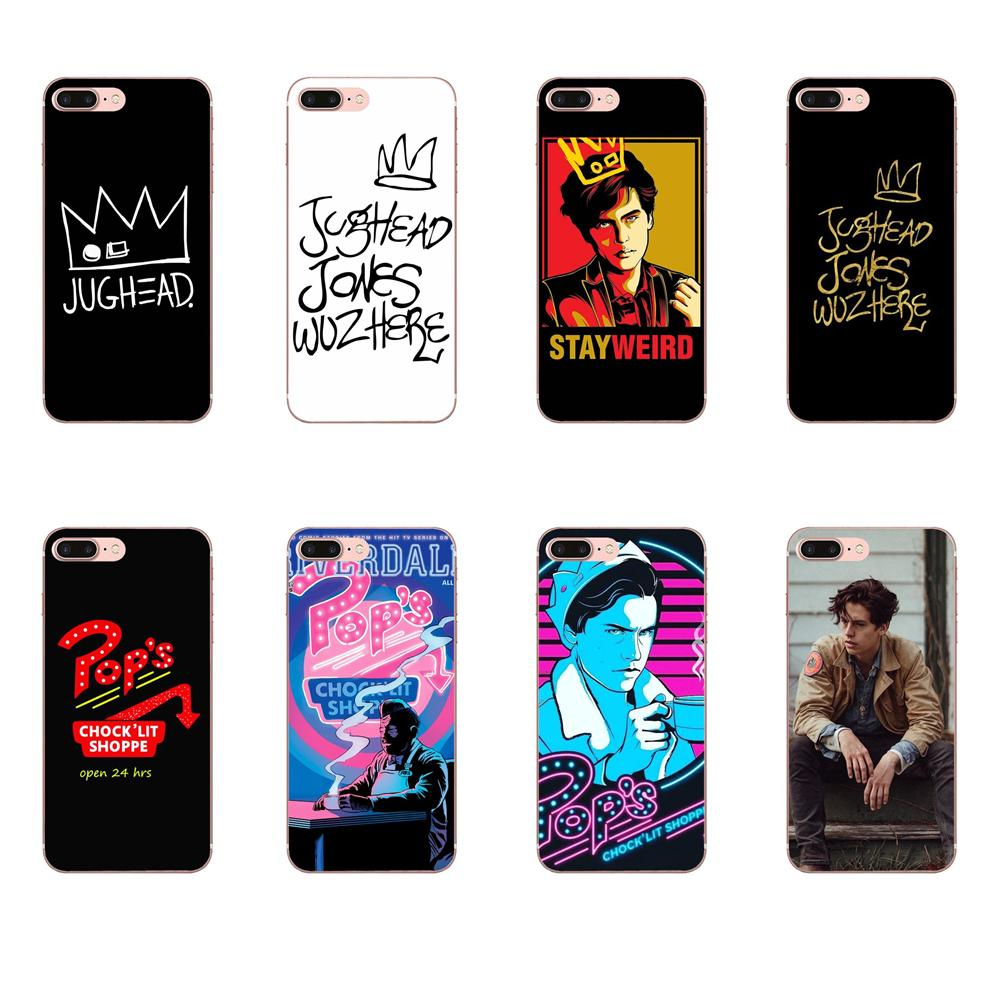 For Iphone 8 Plus Luxury Tv Riverdale Jughead For Sony Xperia Z Z1 Z2 Z3 Z4 Z5 compact Mini M2 M4 M5 T3 E3 E5 XA XA1 XZ Premium