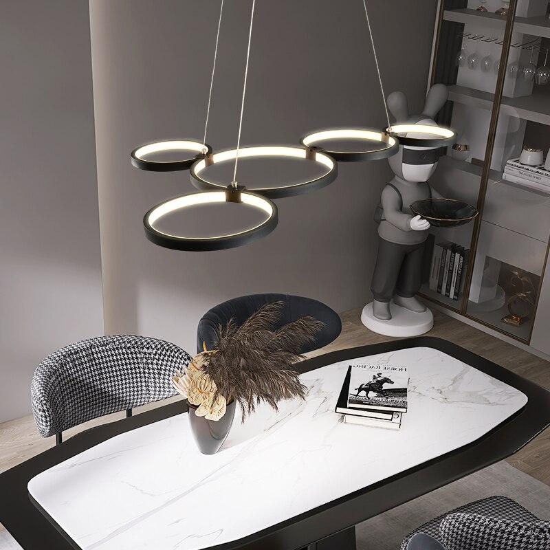 NEO بصيص الكلاسيكية الحديثة قلادة led ضوء للمطبخ الطعام غرفة المعيشة تعليق الإنارة تركيبات مصباح معلق