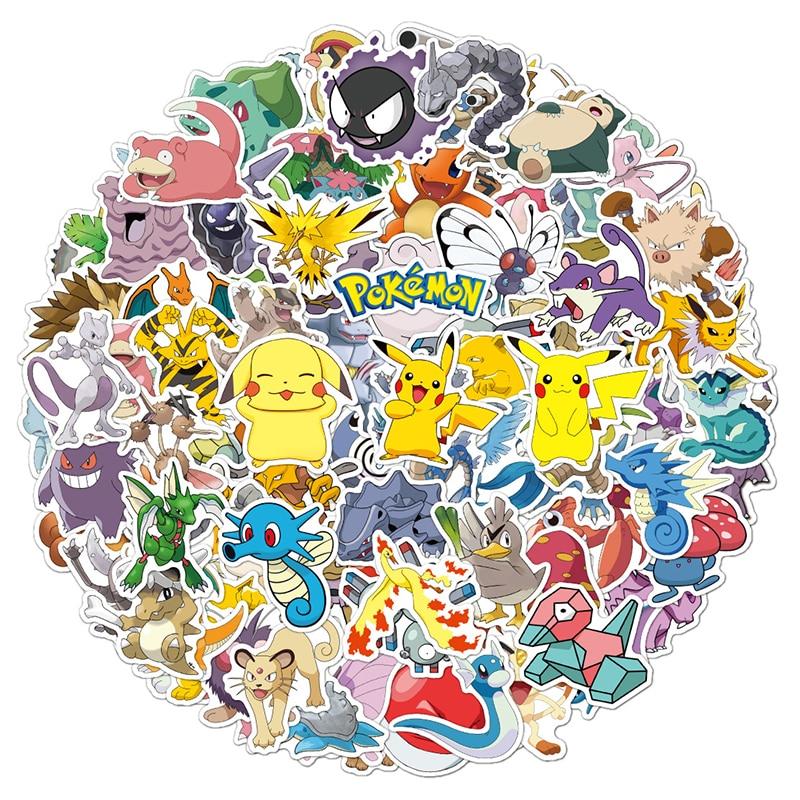 10-30-50pcs-giappone-anime-cartoon-pokemon-adesivi-giocattoli-per-bambini-motociclette-skateboard-telefoni-fai-da-te-diari-mano-scrapbook-desk