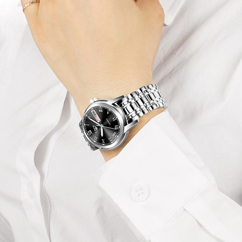 LIGE New Fashion Women Watches Ladies Top Brand Luxury Stainless Steel Calendar Sport Quartz Watch Women Waterproof Watch+Box enlarge