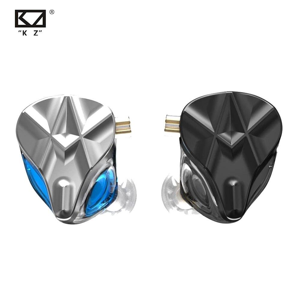 KZ ASF Earphones 10 BA Units HIFI Bass In Ear Monitor Headphones Noise Cancelling Earbuds Sport Headset наушники проводные enlarge
