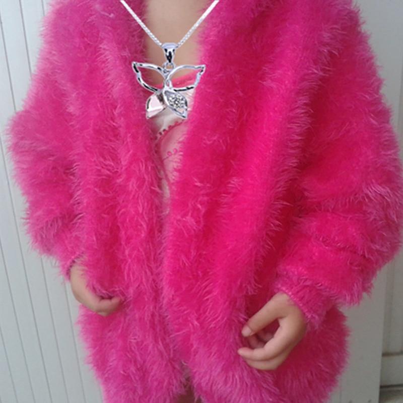50G/bola gruesa tejida a mano hilado de visón lana Cachemira ganchillo grueso suave leche bebé Hilo para DIY suéter manta sombrero