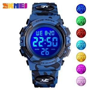 SKMEI Digital Kids Watches Sport Colorful Display Children Wristwatches Alarm Clock Boyes reloj Watch relogio infantil Boy 2021