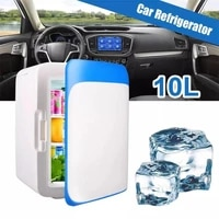 10l car home mini refrigerator fridges 12v220v portable food drink cooler outdoor pinic food cooling warming keep fresh