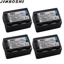 Batterie VW VBT190 pour Panasonic, 4X VW-VBT190, HC-V270, HC-V380, HC-V510, HC-V520, HC-V550, HC-V700, HC-V110, HC-V130, HC-V160