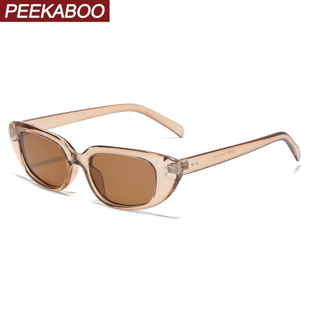 Peekaboo мужские Квадратные Солнцезащитные очки женские негабаритные 2020 Летний стиль прозрачные солнцезащитные очки для женщин черные желтые ...
