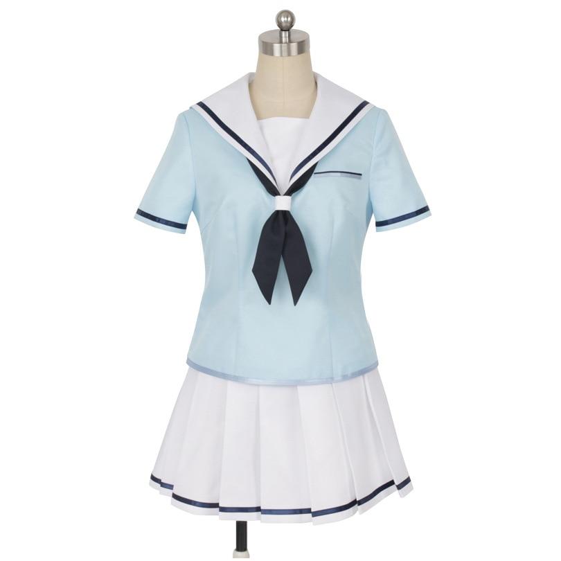 HISTOYE Cosplay déguisement lanimation BanG rêve déguisement Toyama Kasumi Cosplay vêtements pour femmes Halloween déguisement fête