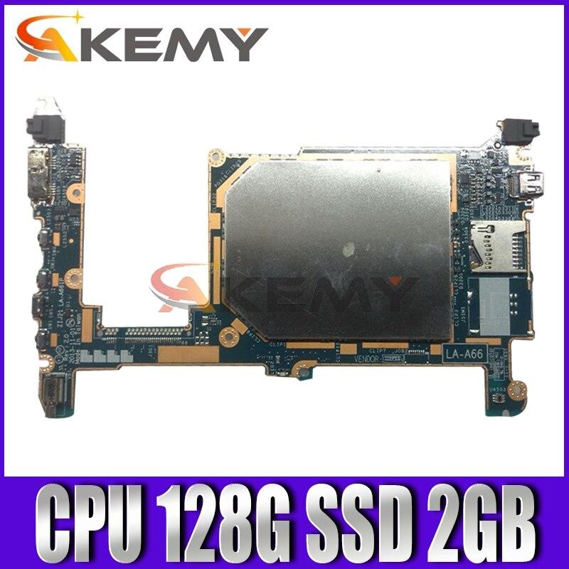 Akemy ZIJI1 LA-A661P لينوفو ثينك باد 8 اللوحة الأم FRU 00HM056 W8P ، Z3770 CPU 128G SSD 2GB RAM 100% اختبار العمل