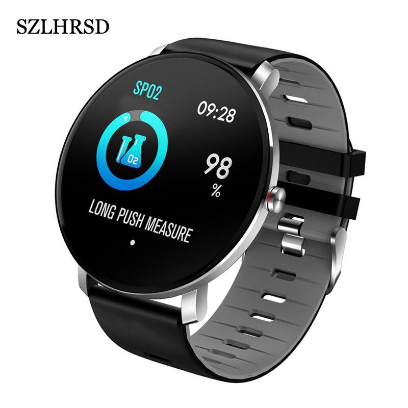 Для sony Xperia 10 II 1 II L4 10 Plus XZ3 XZ2 XA2 Plus L3 Смарт-часы IP68 умный Браслет монитор сердечного ритма фитнес-упражнения