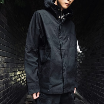Stone Island tide brand joint camouflage functional tactical tooling jacket and assault jacket men and women with the same parag