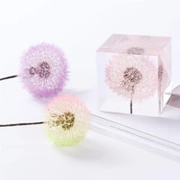 dried flowers uv epoxy resin filling dandelion natural flower diy resin mold filler decoration jewelry making accessories