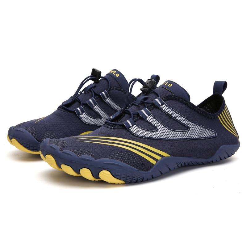 Quick Dry Aqua Shoes Plus Size Nonslip Sneakers Women Men Water Shoes Breathable Footwear Light Surfing Beach Elastic Sneakers