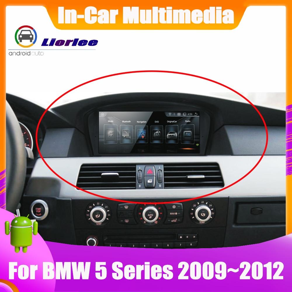 Car Electronic Intelligent System Multimedia Player For BMW 5 535i/528i/530i/525i E60/E61/E62/E63 GPS Navigation Android Screen