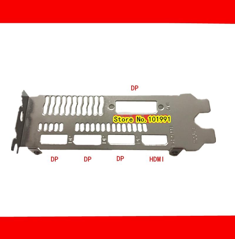 XFX RX570 Black Wolf Edition RX 580 480 470 460 570 560 graphics card baffle DP+DP+DP+HDMI+DVI interface free shipping