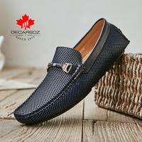 2021 Men Shoes Men Loafers Shoes Autumn Luxury Leather Fashion Moccasins Footwear Comfy New Men's Flats Slip-On Men Casual Shoes