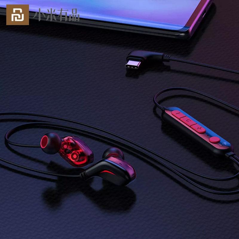 Fone de Ouvido Efeito de Luz Youpin Quente Imersivo Virtual Gaming Rgb Circular 2 Modos Confortável Usar Tipo-c Ajustável 3d