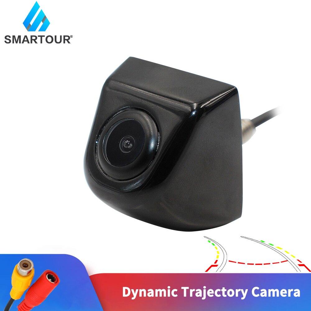 Smartour Автомобильная камера заднего вида с поворотом интеллектуальная динамическая траектория Авто парковочный монитор HD видео резервная к...
