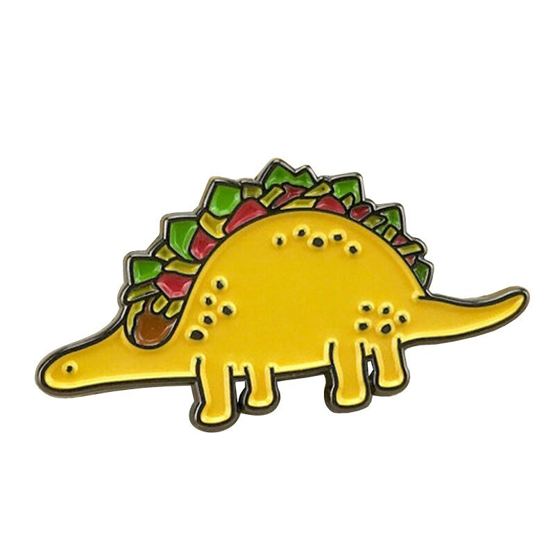 Mexican Food Taco Soft Enamel Pin cute reminder of how beautiful it is that we live in a world where we have tacos.