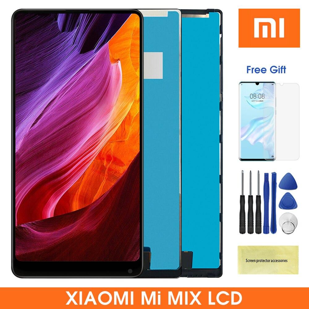 """6.4 """"display lcd para xiaomi mix lcd com tela de toque digitador assembléia para xiaomi mi mix lcd"""