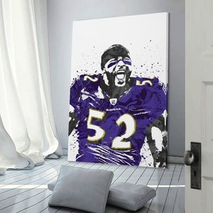 Decor 52 Ray Lewis Print Painting Canvas Hang A Picture for Living Room Wall Room Posters With Frame Modern Home