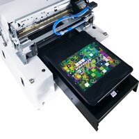 Personalized customized t shirt design logo dtg digital printer a3 t-shirt printing machine