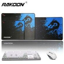 Rakoon Grote Gaming Muismat Voor Gamer Vergrendeling Rand Mousepad Pc Laptop Computer Muis Mat Voor Cs Gaan League Van legends Dota
