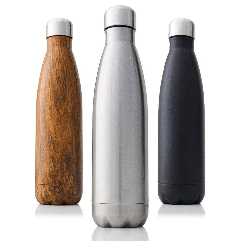 350/500/750/1000ml קיר כפול מבודד ירמוס נירוסטה חום תרמוס עבור ספורט מים ניידים בקבוקי תרמוסים