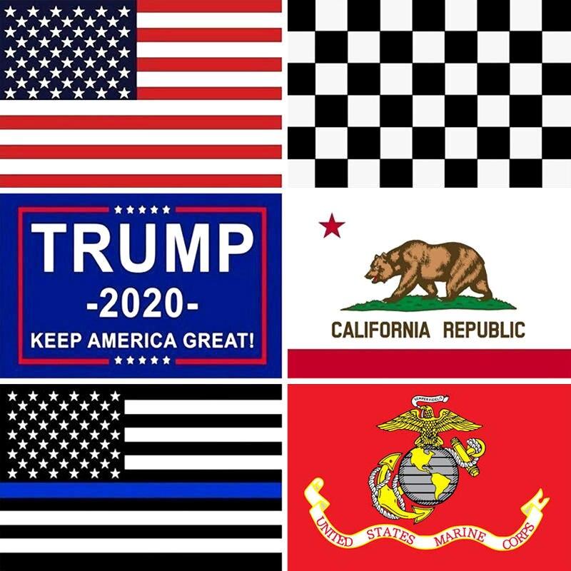 3x5 футов американские флаги США Трамп Калифорнийский Gadsden не проступи на меня тонкая синяя линия Домашний Декоративный Флаг США баннер